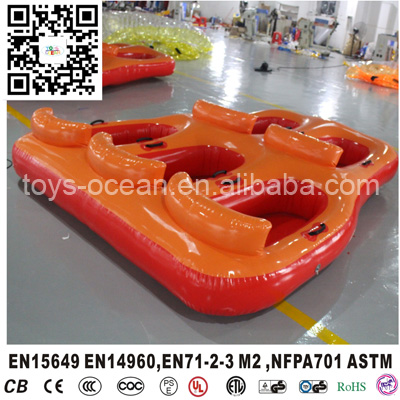 5 Persons Inflatable Water Tube Raft Boat For Sale Warm And Windproof