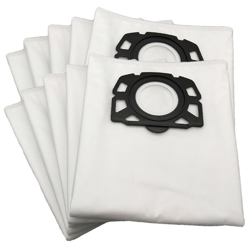 12 Pieces/Lot Dust Bag Vacuum Cleaner For Karcher Mv4 Mv5 Mv6 Wd4 Wd5 Wd6 Washable