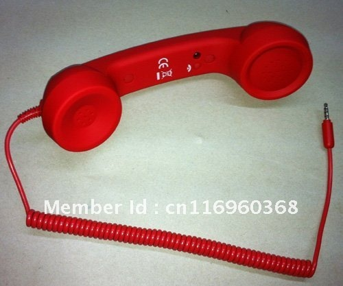 Retro Handset For Iphone, Android Smartphones, Mobile Phones, Ipad (3.5mm) freeshipping