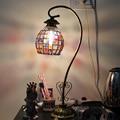 Nepal retro Europeia frisado barato mesa de estudo lâmpadas quarto casamento lâmpada de cabeceira cômoda