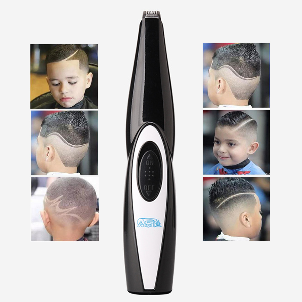 New Kids Hair Clipper Barber scissors carved carving tools Hair Trimmer modeling stencil lettering Haircutting Styling Tools hair clipper barber scissors carved carving tools rechargeable hair trimmer adult child modeling stencil lettering