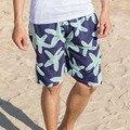 2016 быстросохнущие пляжные шорты мужские шорты борту шорты бермуды masculina мужчины, Отдых шорты