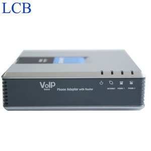 Image 3 - ロック解除 Linksys SPA9000 SIP iP PBX の VOIP 電話アダプタ電話 Telefone 音声サーバシステム ATA fxo FXS Telefonia アダプタ