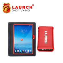 LAUNCH X431 V+ Heavy Duty Full Scanpad BT / WIFI System Car Diagnostic Scanner with GOLO tablet scan tool For 12V/24V Vehicles(China (Mainland))