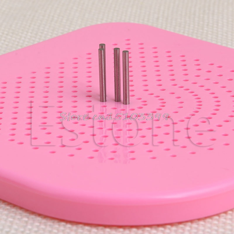 Plastic The Quiller/'s Grid Guide Pink For Paper Quilling Creations Craft Tool KE
