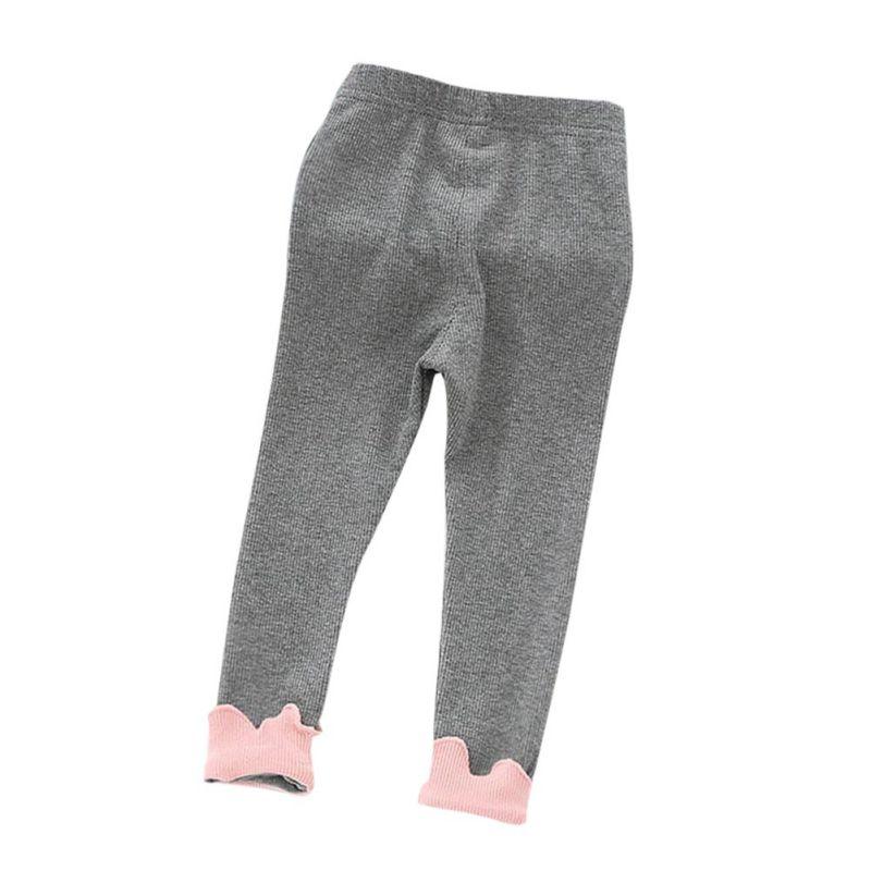 цена на New Brand Cotton Baby Girls Leggings Kids Winter Warm Pants Legging Long Slim Baby Girl Clothes