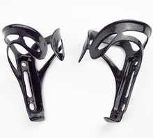 2pieces wholesale full carbon fiber bottle cage bicycle Bottle Holder match well with carbon frame silver free shipping