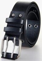 High Quality PU Belts For Men Women Unisex Wide Waist Belts Double Pin Buckle Belt 120cm