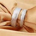 Single Price Simple Design Couple Ring Wedding/ Engagement Titanium Steel Woman Man Jewelry Cheap Price Promotion Free Shipping