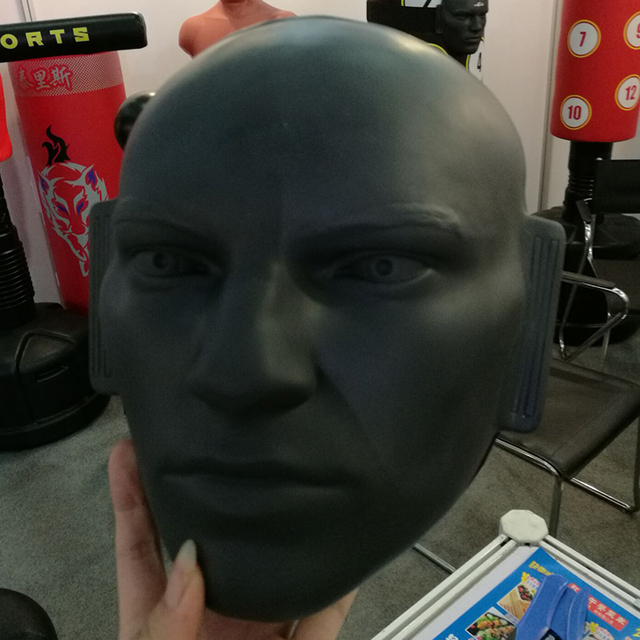 Rubber Human Dummy Face Punching Target