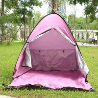 Quick Automatic Opening Beach Tent Sun Shelter UV Protective Tent Shade Lightweight Pop Up Open For