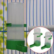 60ml/140ml Parrot Bird Drinker Feeder Watering Plastic with Clip for Aviary Budgie Cockatiel(China)