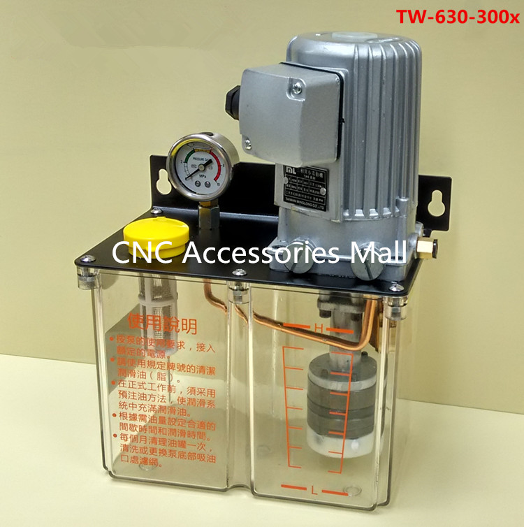 3L 3 Liters 220V grease lubricant pump lubricating oil pump cnc electric lubrication pump