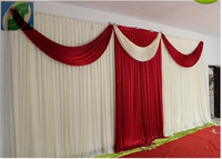 3x6 м Свадьба шторы и занавес Свадебные украшения Бесплатная доставка