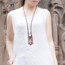 2016 novas mulheres camisola vintage choker colares multicolor diy acessórios jóias pingente choker colar de cobre velho bx020