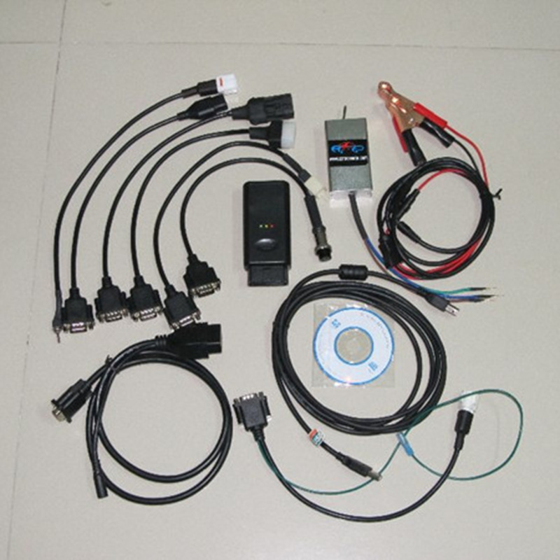 imágenes para Multi-Marca de la Carrera 7 en 1 Reparación de Motos Escáner Herramienta de Diagnóstico Para Yamaha PGO para sUZUKI Para Hon-da, etc.