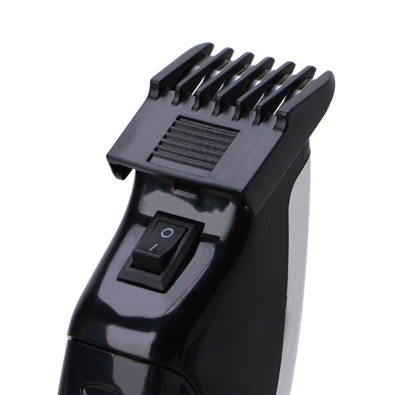 Kemei Electric Hair Clipper Mini Hair Trimmer Cutting Machine Beard Barber Razor For Men Style AS PIC as picture 7