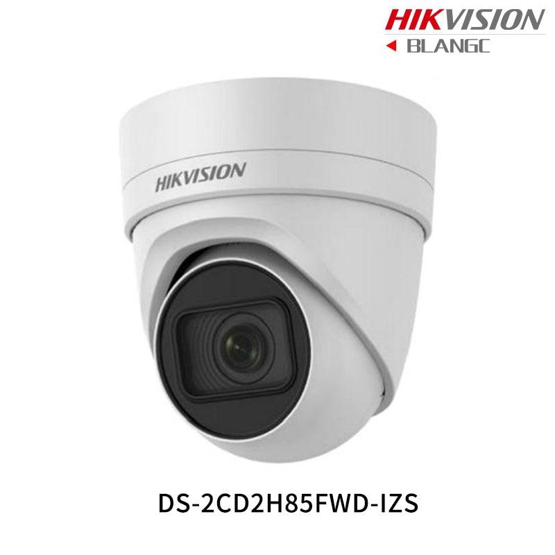 Hikvision 8MP WDR Vari-focal CCTV IP Camera H.265 4K DS-2CD2H85FWD-IZS Turret Security Camera 2.8-12mm face detection IP67 IK10 hikvision ds 2cd2742fwd is 4mp wdr vari focal dome camera