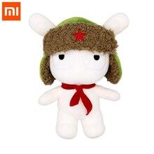 Orijinal xiaomi Mitu tavşan bebek 25CM PP pamuk ve yün karikatür sevimli oyuncak hediye çocuklar için kız erkek doğum günü noel arkadaşı