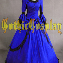 Adult southern belle costume Halloween costumes for women blue Victorian dress  Ball Gown Gothic lolita dress ad2c1a91d91a