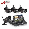 7 Inch Screen 4CH Wireless NVR CCTV System 1TB HDD 720P IP Camera WIFI Waterproof IR Night Vison Home Security Surveillance Kit