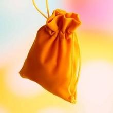 Bolsas promocionales con cordón de 9x12 cm, bolsa de algodón con cordón, bolsa reciclable, personalizable, 50 Uds.