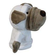 Бесплатная доставка Гольф Животных Headcover для Фарватера Древесины или Гибридных Гольф-Клуб голову, Прекрасная Собака