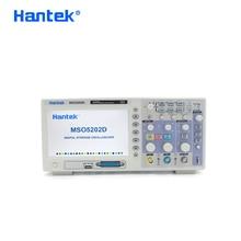 Hantek Official MSO5202D Digital Oscilloscope Portable 200MHz 2Channels Oscilloscopes USB Osciloscopio +16Channel Logic Analyzer