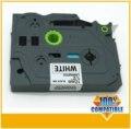 P touch compaitble label black on white 12mm tz231 tape