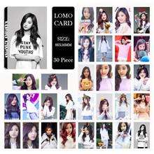 KPOP TWICE CHEER UP Tzuyu Album LOMO Cards K-POP New Fashion Self Made Paper Photo Card HD Photocard Free shipping(China)