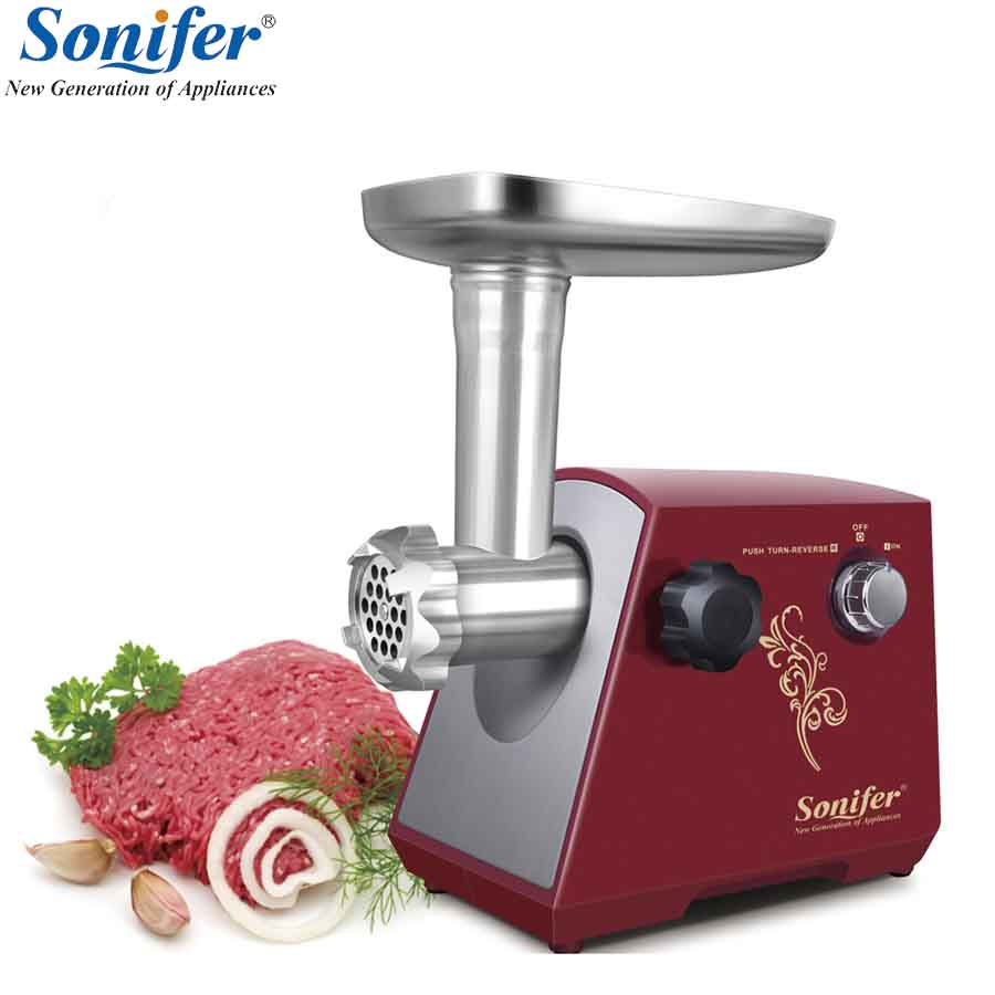 1200W Colorful Home Electric Grinder Meat Fish Cutter Cutting Machine Multifunction Meat Grinder High Quality Stainless Steel gezi electric meat grinder meat cutter parts stainless steel blade matching meat cutter suits for jr1 jr2 jr3 jr5 jr6 grinder