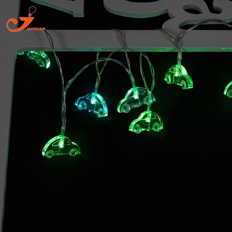 car lights Children fairy lights string light home party garden letter lamp battery powered intelligence game toy lighting