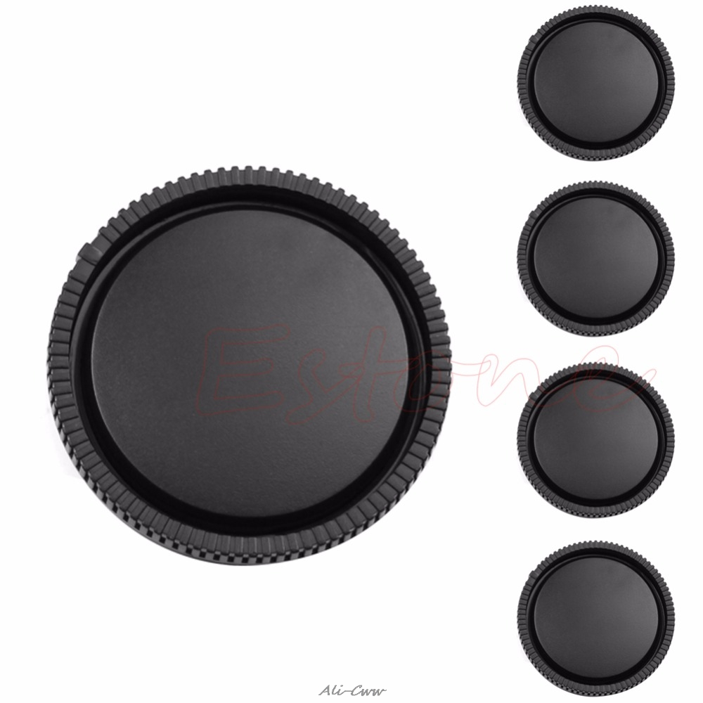 1/5 Pcs Rear Lens Cap Cover For Sony E Mount NEX NEX-5 NEX-3 Camera Lens