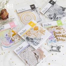 Милый неправильной формы бумажные наклейки украшения дневник в стиле Скрапбукинг этикетки стикеры Kawaii канцелярские товары