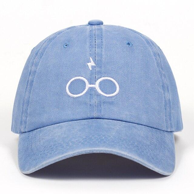 2018 new design dad hats women men glasses baseball cap high quality unisex fashion dad hats new lightning sports hats