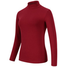 여성 t 셔츠 긴 소매 티셔츠 절반 터틀넥 열 tshirt 여성 streetwear t 셔츠 패션 인과 t 셔츠 봄 탑스