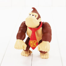 14cm Super Mario Bros King Kong Monkey cute pvc action figure model toy for children gift(China)