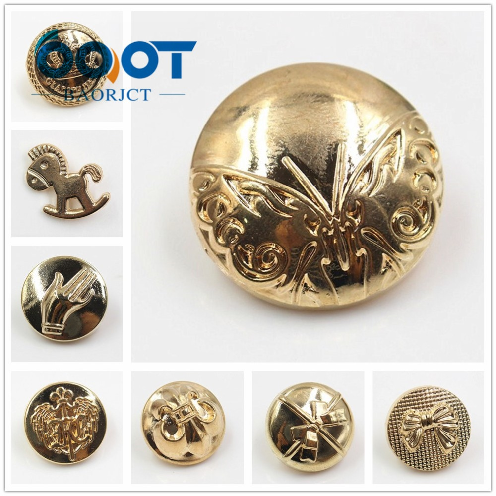 Buttons Amicable 177274,free Shipping 10pcs Vintage Metal Button Blazer Button Set Diy Handmade Sewing,for Blazer-suits-sport Coat-uniform-jacket