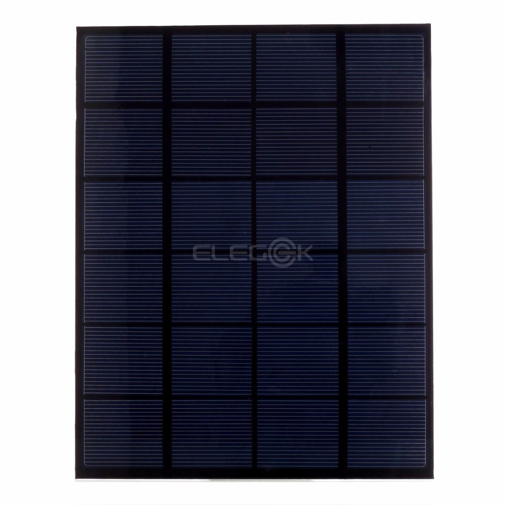 Silício Policristalino Célula Solar Módulo Mini DIY