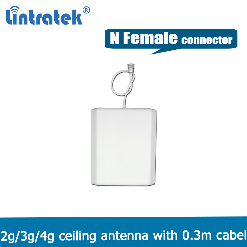 700-2700mhz  Indoor Panel Antenna 2G 3G 4G Indoor Antenna For GSM WCDMA CDMA DCS PCS LTE 2600 Mobile Signal Repeater @7