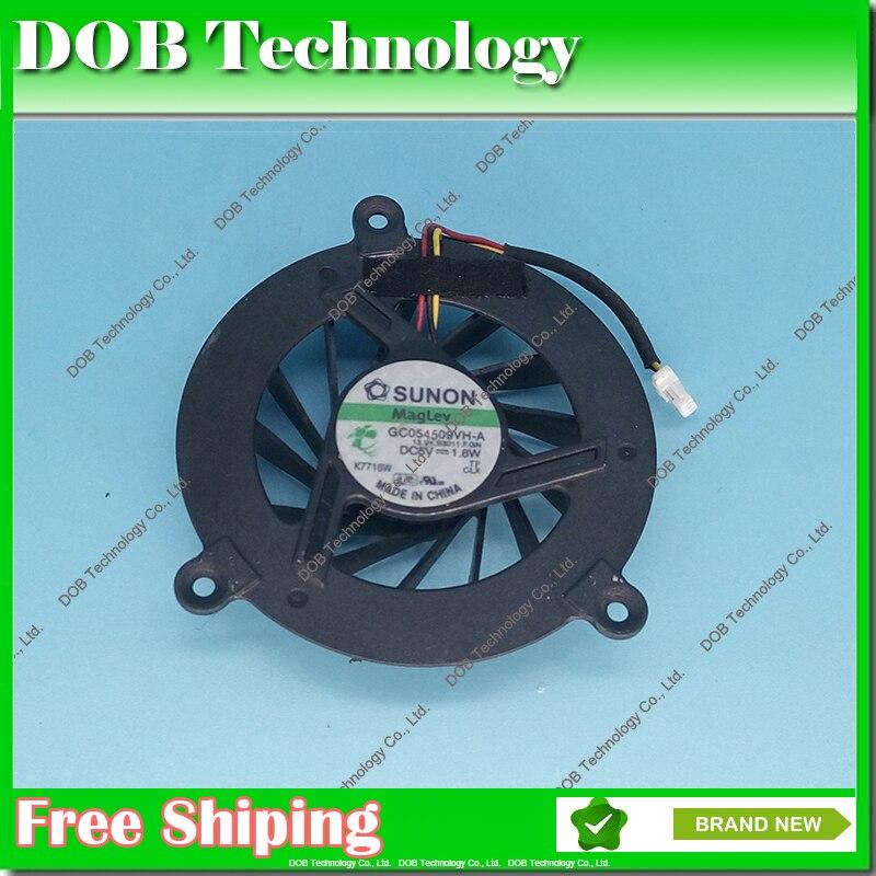 Ventilateur de refroidissement de processeur pour ordinateur portable Pour Fujitsu SiemensS Esprimo U9200 M9400 GC054509VH-A Ventilateur