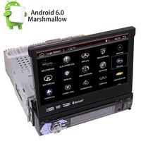 IN DASH 7 FLIP OUT ANDROID 6.0 CAR DVD/MP3 CAR STEREO RECEIVER WIFI DVD Player car styling DVR Single din stickers on cars