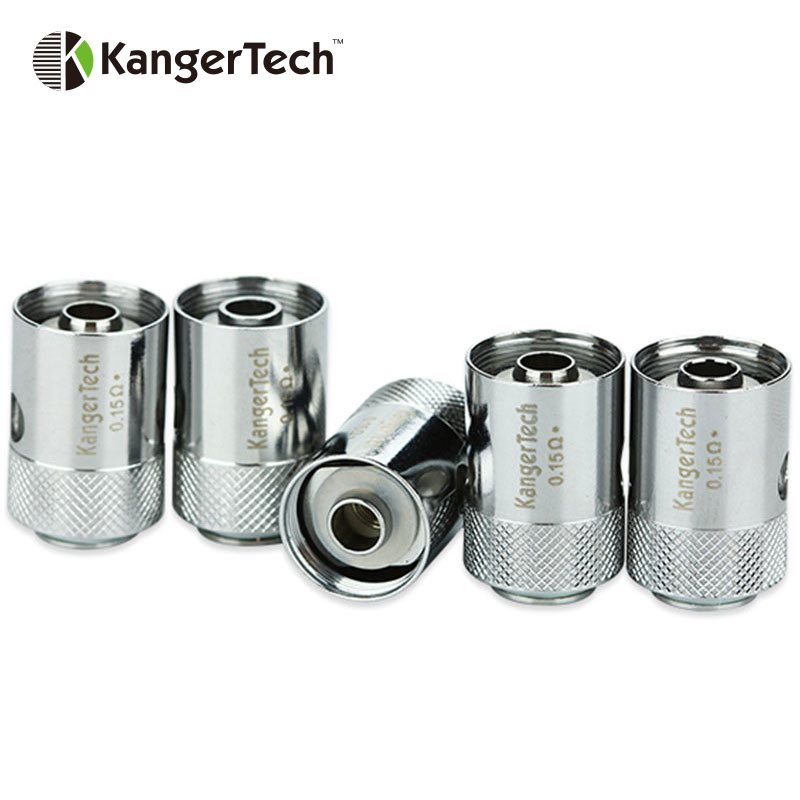 Original 5pcs Kanger CLTANK CLOCC Replacement Coil 0.5ohm/0.15ohm Replaceable Clocc Heads for CLTANK Tank/EVOD Pro/cupti