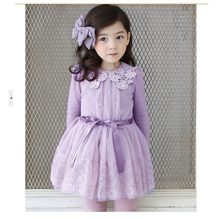 Popular Little Girl Fall Dresses-Buy Cheap Little Girl Fall ...