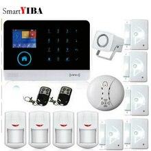 SmartYIBA самый продвинутый беспроводной wifi GSM GPRS сигнализация система умного дома Охранная Сигнализация приложение управление сенсорная аварийная система Комплект