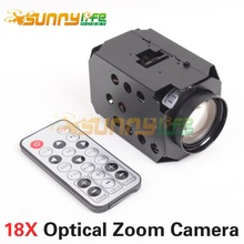 1080P 18X HD Optical Zoom Camera with TF Storage Output CMOS Sensor Camcorder HD Lens for FPV Aerial Photography