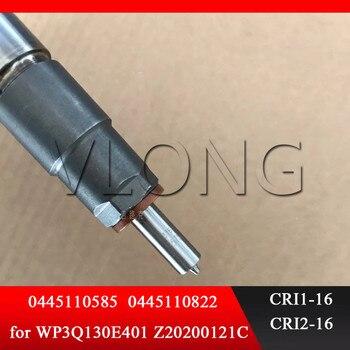 אמיתי ו חדש לגמרי מסילה משותפת דלק מזרק 0445110585 עבור WP3Q130E401 מנוע