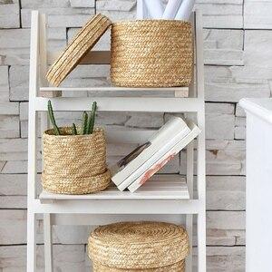 3 Pcs/Set Handmade Straw Woven