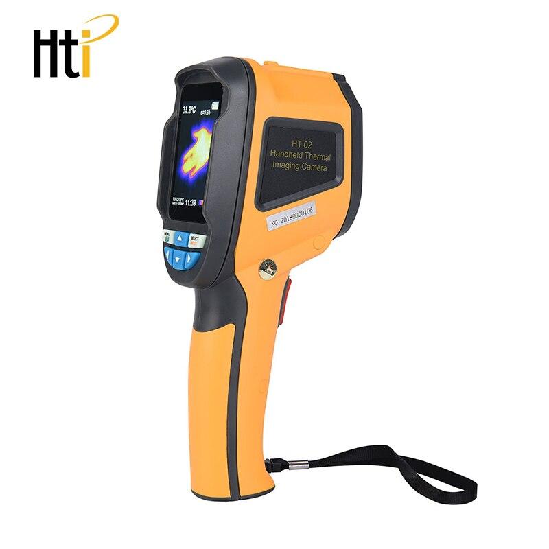 HT-18 ручной Термографическая камера Инфракрасная тепловая камера HT18 Цифровой Инфракрасный Тепловизор с 2,4 дюймовым цветным ЖК-дисплеем - Цвет: HT-02