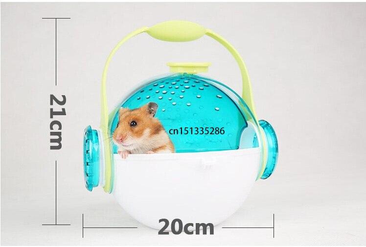Cute Round Hamster Cage Mini Paradise Suite Cage Habitat